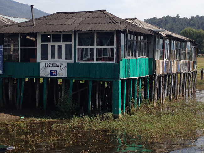 restaurant on stilts