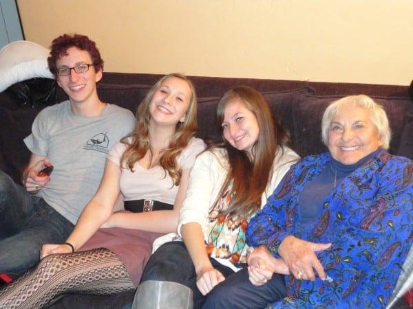 Temme with grandchildren copy