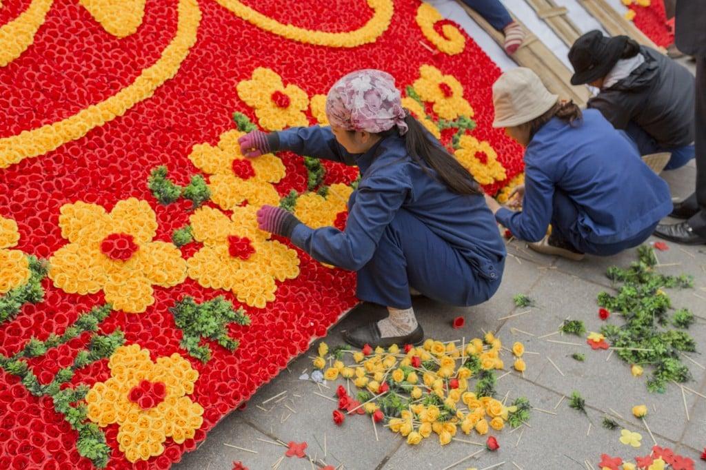 Writing Retreat Vietnam Flowers