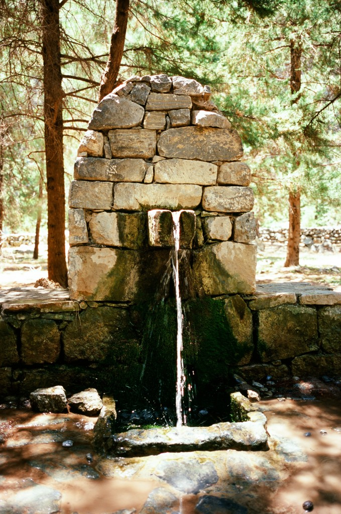 Samaria Gorge Water Fountain