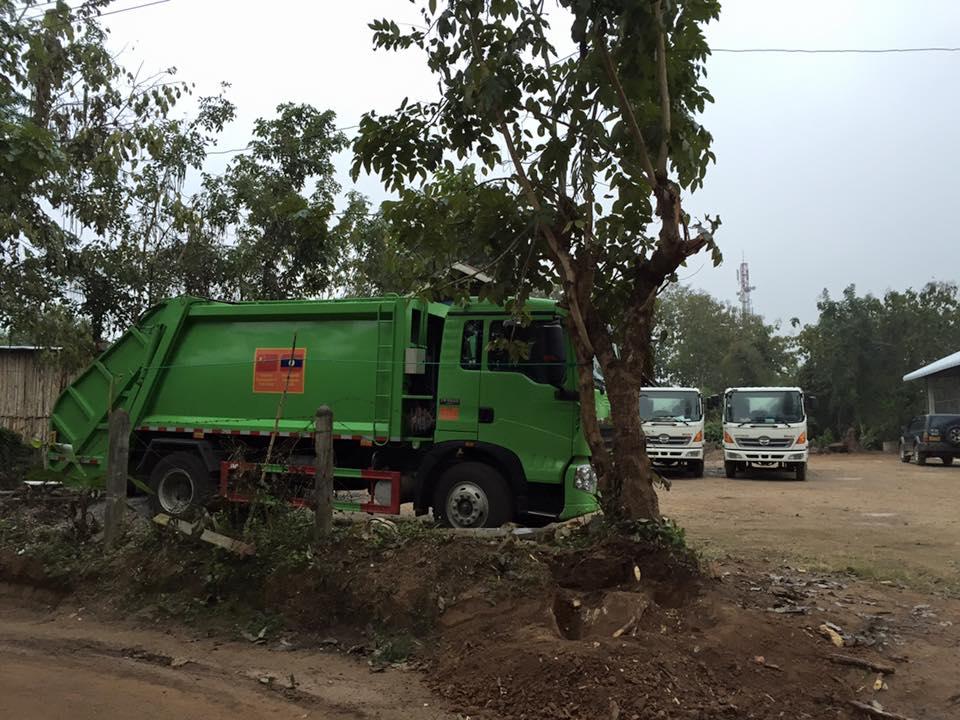 Big work trucks