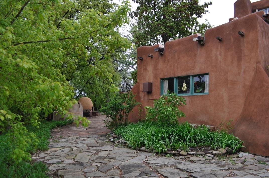 Mabel Dodge Luhan, Taos. Photograph by William Garnsey.