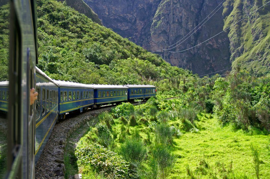 Train to Machu Picchu - the lost city of the Incas, Peru