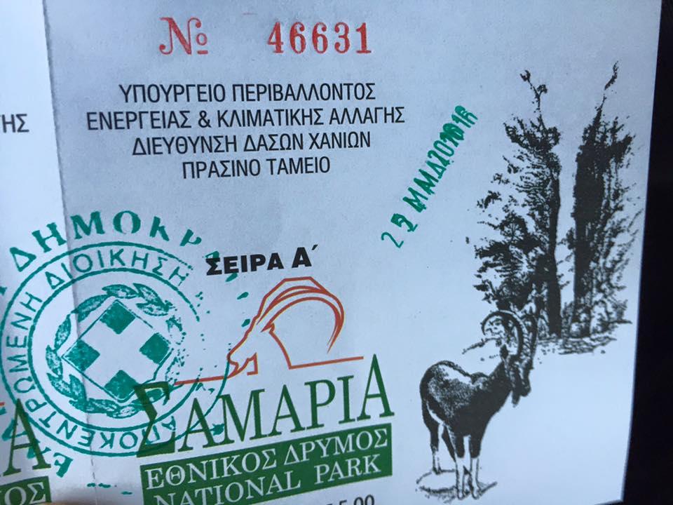 laura-davis-greece-samaria-gorge-entrance-ticket