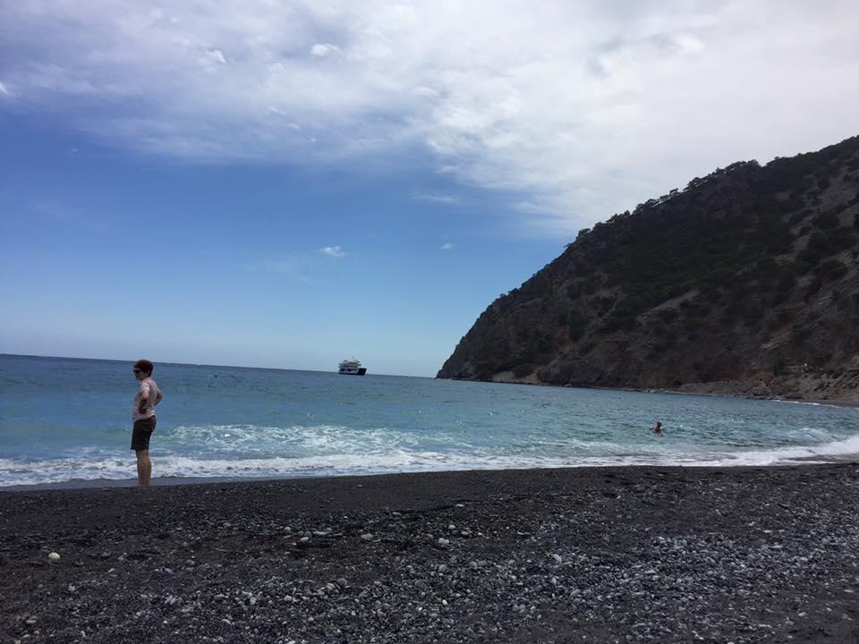 laura-davis-greece-samaria-gorge-libyan-sea