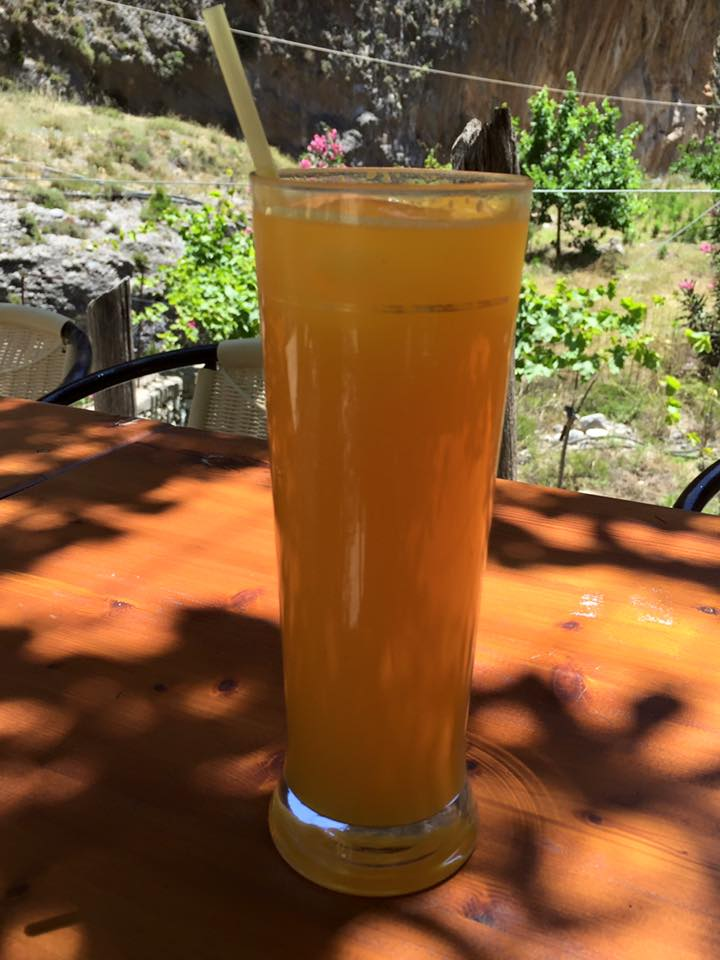 laura-davis-greece-samaria-gorge-orange-juice