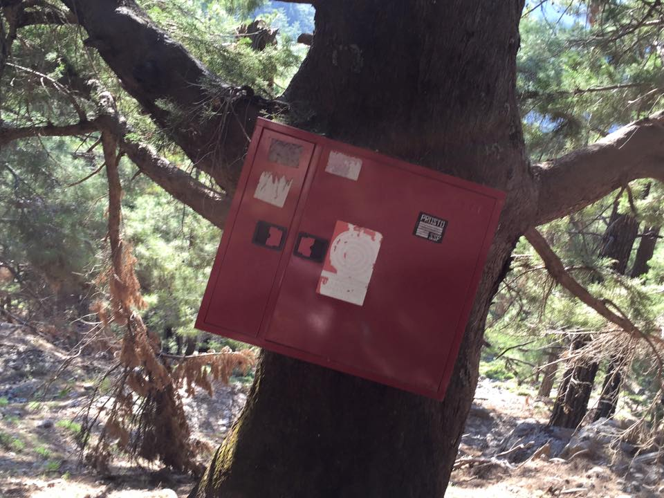 laura-davis-greece-samaria-gorge-red-first-aid-boxes