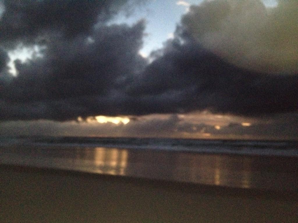 sunrise in Causarina